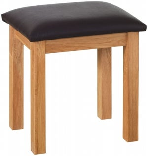 New Oak Dressing Table Stool