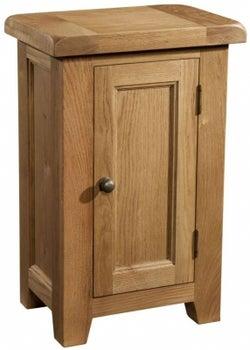 Somerset Oak 1 Door Hall Cabinet
