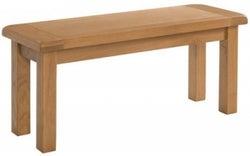 Somerset Oak Dining Bench
