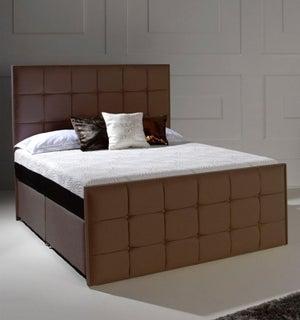 Dormeo Octaspring Loire Fabric Divan Bed with 5500 Mattress