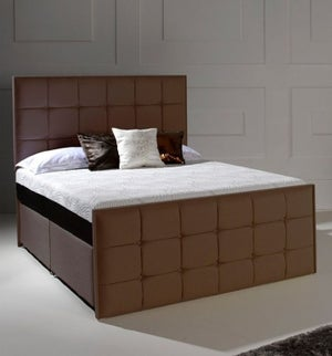 Dormeo Octaspring Loire Fabric Divan Bed with 8000 Mattress