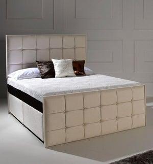 Dormeo Octaspring Loire Fabric Divan Bed with 8500 Mattress