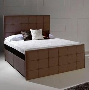 Dormeo Octaspring Loire Fabric Divan Bed with 9500 Mattress