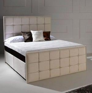 Dormeo Octaspring Loire Fabric Divan Bed with Tribrid Mattress