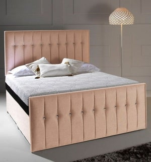 Dormeo Octaspring Revive Fabric Divan Bed with 6500 Mattress