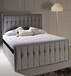 Dormeo Octaspring Revive Fabric Divan Bed with 8000 Mattress