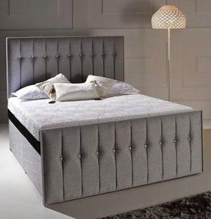 Dormeo Octaspring Revive Fabric Divan Bed with Tribrid Mattress