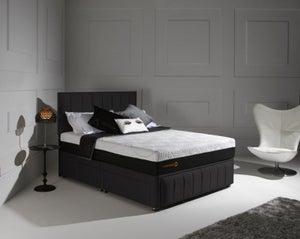 Dormeo Octaspring Roma Fabric Divan Bed with 5500 Mattress