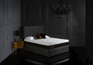 Dormeo Octaspring Roma Fabric Divan Bed with Hybrid Plus Mattress