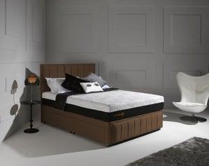 Dormeo Octaspring Roma Fabric Divan Bed with Tribrid Mattress