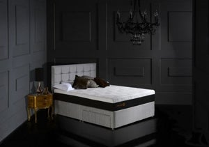 Dormeo Octaspring Tiffany Fabric Divan Bed with 8000 Mattress