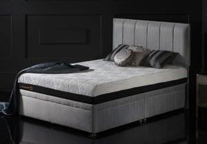 Dormeo Octaspring Tiffany Fabric Divan Bed with 9500 Mattress