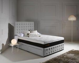 Dormeo Octaspring Venice Fabric Divan Bed with Tribrid Mattress