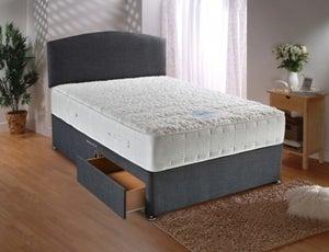 Dura Beds Sensacool 1500 Pocket Spring Deluxe Platform Top Divan Bed