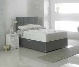Dura Beds Tencel Pocket 1000 Pocket Spring Deluxe Sprung Edge Divan Bed