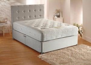 Dura Beds Grand Luxe 2000 Pocket Spring Deluxe Sprung Edge Divan Bed