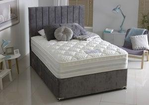 Dura Beds Oxford 1000 Pocket Spring Platform Top Divan Bed