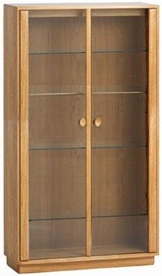 Ercol Windsor Large Display Cabinet