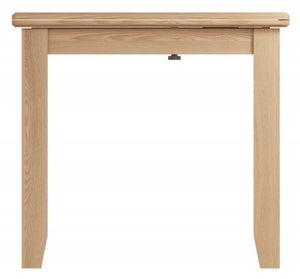 Eva Light Oak Flip Top Dining Table