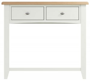 Graceton Oak and White Painted Console Table