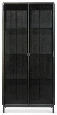 Ethnicraft Anders Black 2 Door Large Storage Cupboard