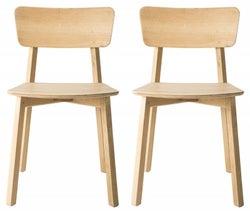 Ethnicraft Oak Casale Dining Chair (Pair)