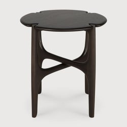 Ethnicraft Mahogany PI Dark Brown Side Table