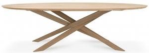 Ethnicraft Oak Mikado Oval Dining Table