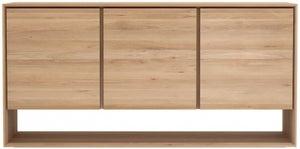 Ethnicraft Oak Nordic 3 Door Wide Sideboard