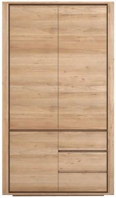 Ethnicraft Oak Shadow 3 Door 2 Drawer Dresser