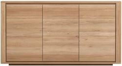 Ethnicraft Oak Shadow 3 Door Sideboard