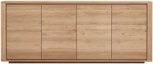 Ethnicraft Oak Shadow 4 Door Sideboard