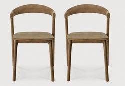 Ethnicraft Teak Bok Dining Chair (Pair)