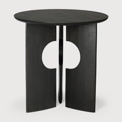 Ethnicraft Teak Cove Black Side Table