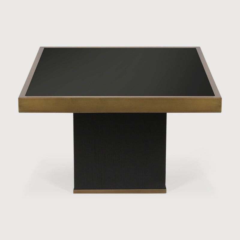 Ethnicraft Trifecta Charcoal Large Coffee Table