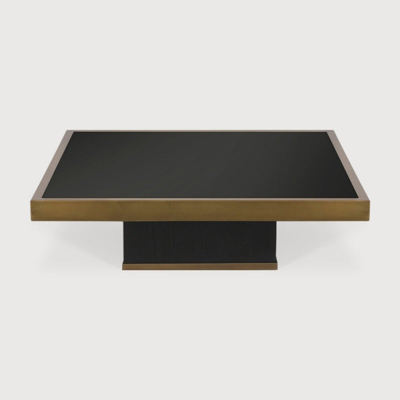Ethnicraft Trifecta Charcoal  Small Coffee Table