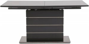 Massimo Grey High Gloss Butterfly Extending Dining Table