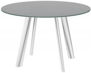 Omega Grey Swivel Extending Dining Table