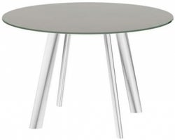 Omega Taupe Swivel Extending Dining Table