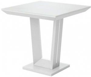 Vivaldi Matt White Side Table