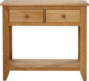Aston Oak Console Table