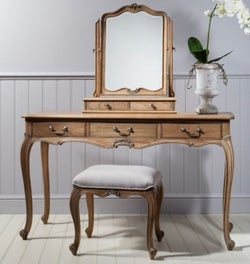 Frank Hudson Chic Dressing Table - Weathered