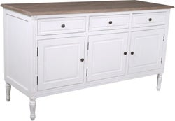Delphine French Off-White Painted Sideboard