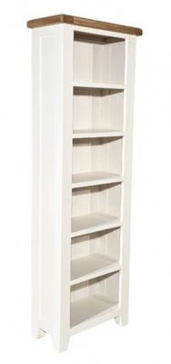 Clearance - Oxford Painted Slim Bookcase - New - E-658