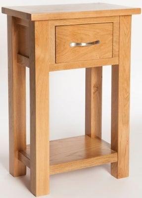 York Oak Console Table