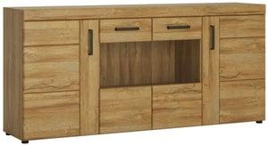 Cortina Grandson Oak Glazed Wide Sideboard