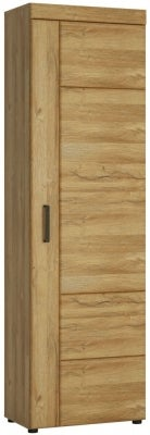 Cortina Grandson Oak Tall Right Hand Facing Cupboard