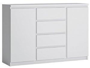 Fribo White 2 Door Sideboard