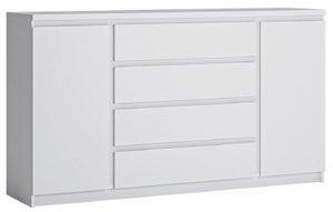Fribo White 2 Door Wide Sideboard