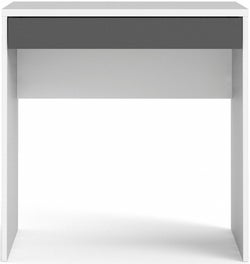 Function Plus White and Grey Desk